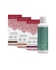Buy any 3 Henna Cream and get Hydrate Conditioner Free